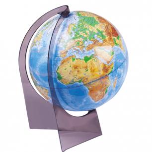 Глобус физический диаметр 210 мм (Россия)
