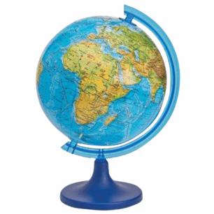 Глобус физический DMB диаметр 220 мм, (изготовлено по лицензии ГУП ПКО Картография), 698