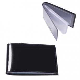 """Визитница карманная BEFLER """"Classic"""" на 40 визиток, натур. кожа, черная, V.30.-1, ш/к-90010"""