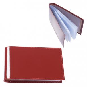 """Визитница карманная BEFLER """"Classic"""" на 40 визиток, натур. кожа, коньяк, V.30.-1, ш/к-00015"""