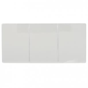 Обложка для автодокументов, ПВХ, 262*122, трехсекционная, прозрачная, ДПС, 1415