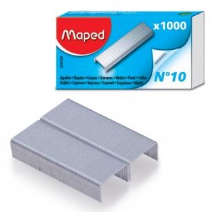 Скобы для степлера MAPED (Франция), №10, 1000 шт., 324105