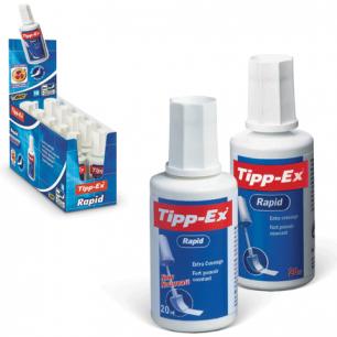 """Корректирующая жидкость BIC """"Tipp-ex Rapid"""", 20 мл, флакон с губкой, 8859942"""