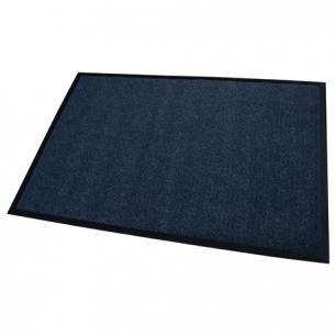 Коврик входной ворсовый влаго-грязезащитный FLOORTEX 80*120см, ворс 4,5мм, основа 2,5мм, т-син, 600975