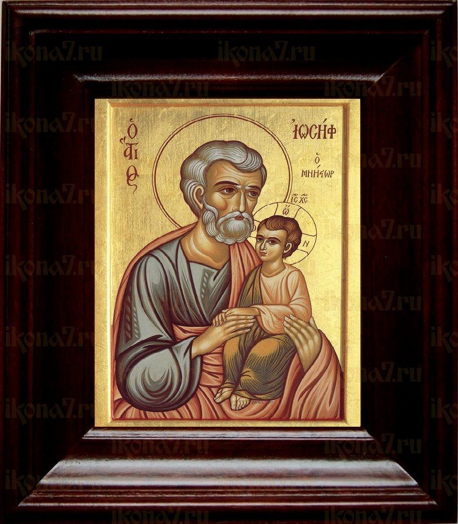 Иосиф Обручник (21х24), простой киот