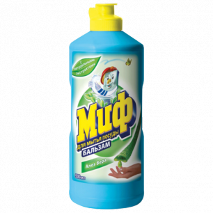 """Средство для мытья посуды МИФ 500мл, """"Бальзам Алоэ Вера"""", ш/к 56928"""