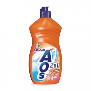 "Средство для мытья посуды AOS 500мл, ""Бальзам"", ш/к 12367"