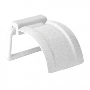 Держатель для туалетной бумаги IDEA, пластиковый, цвет мраморный, ш/к 03192