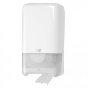 Диспенсер для туалетной бумаги TORK (Система T6)  Elevation, midi, белый, (бумага 126135), 557500