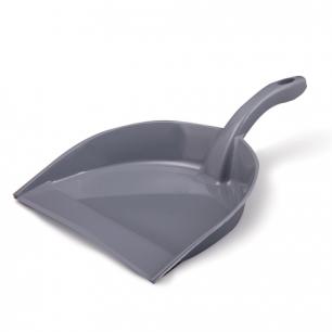 """Совок д/мусора IDEA """"Идеал"""", эконом, пластик, серый, М 5190"""