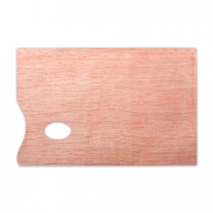 Палитра для рисования, деревянная, прямоугольная, 20х30см, толщ. 5мм, DK18434