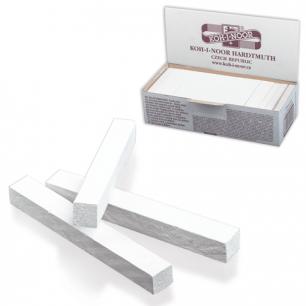 Мел школьный KOH-I-NOOR, КОМПЛЕКТ 100шт., квадратный, белый, картонная коробка, 111502