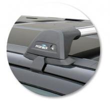 Багажник на крышу без рейлингов, Whispbar, аэродуги