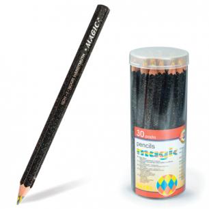 """Карандаш с многоцвет. грифелем KOH-I-NOOR Magic """"Neon"""", гриф 5,6мм, заточ, пласт.тубус, 3405004031TD"""