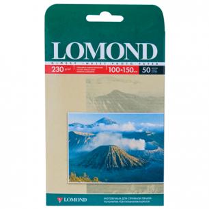 Фотобумага LOMOND д/струйной печати 10*15см, 230г/м, 50л., односторонняя, глянцевая (0102035)