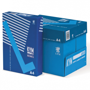 "Бумага офисная А4, класс ""B"", KYM LUX BUSINESS, 80 г/м, 500 л., Финляндия, белизна 98%, 164% (CIE)"