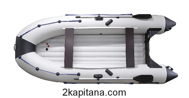 Надувная ПВХ лодка Профмарин (Profmarine) PM 390 Air, моторно-гребная, килевая
