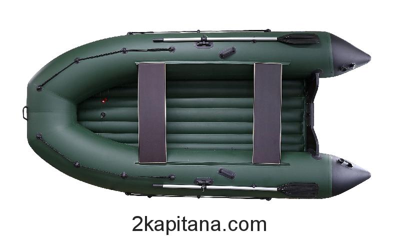 Надувная ПВХ лодка Профмарин (Profmarine) PM 400 Air, моторно-гребная, килевая