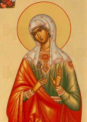 Икона Калиса Коринфская (рукописная)