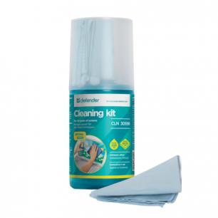 Чистящий набор DEFENDER CLN30598, спрей 200мл+салфетка из микрофибры, 30598