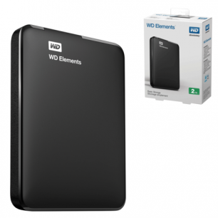 "Диск жесткий внешний WESTERN DIGITAL Elements Portable 500Gb, 2.5"", USB 3.0, чер (WDBUZG5000ABK-EESN)"