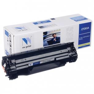 Картридж лазерный HP (CF283A)  LaserJet Pro M125/M201/M127 черный рес 1500стр NV PRINT СОВМЕСТИМЫЙ