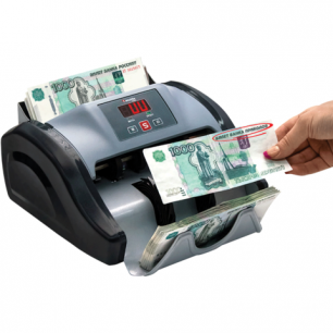 Счетчик банкнот CASSIDA Kolibri, 1000 банкнот/мин, УФ детекция
