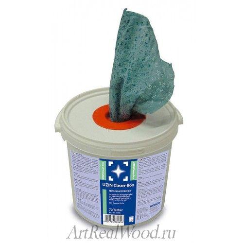 Салфетки для удаления клеевых остатков UZIN Clean Box
