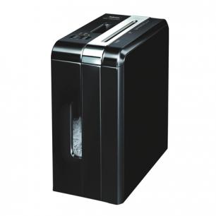 Уничтожитель (шредер)  FELLOWES DS-1200Cs, 1чел, 4ур.секр.4x50мм, 12лист, 15л, скоб, скреп, карт, FS-34092