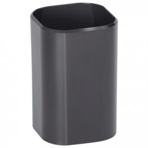 """Подставка-органайзер СТАММ """"Визит"""" (стакан для ручек), 70*70*100 мм, черная, СН31"""