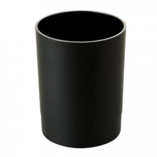 """Подставка-органайзер СТАММ """"Офис"""" (стакан для ручек), 70*70*90 мм, черная, СН11"""