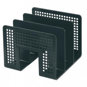 Лоток-сортер для бумаг ERICH KRAUSE 3-секционный, черный, 8070