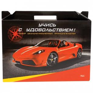 """Набор для Первоклассника в подарочной упаковке """"Хатбер"""" Автомобили, Нп4_05321 (N143896)"""