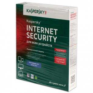 Антивирус KASPERSKY Internet Security лицензия на 2 устройства 1год, продление, бокс, KL1941RBBFR