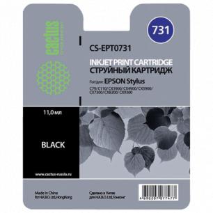 Картридж струйный EPSON (T10514А10)  Stylus С79/СХ3900/4900/5900/7300 и др черный CACTUS СОВМЕСТИМЫЙ