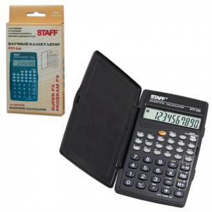 Калькулятор STAFF инженерный  STF-245, 10 разрядов, 120х70мм