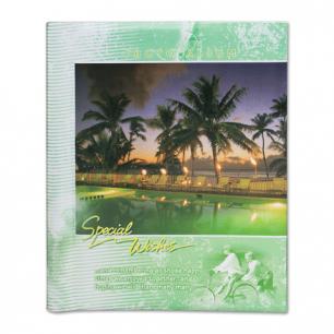 Фотоальбом BRAUBERG 20 магнитных листов, 23*28см, индивид. бокс, курорт, 390687