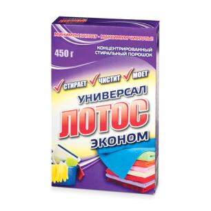 Стиральный порошок универсал ЛОТОС 450г, ш/к 10037