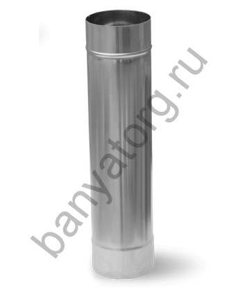 Труба (AISI 430/0,8мм) L-0.5м