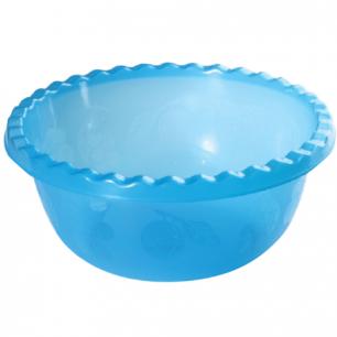 Миска-салатник 1,8л IDEA, круглая, диаметр 23 см, высота 9,5 см, цвет синий, М 1311