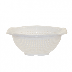 Дуршлаг-корзинка круглый IDEA, диаметр 29см., цвет мраморный, М 1131