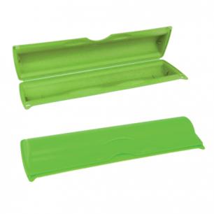 Футляр для фольги и пленки IDEA, отрывной зажим, (в5*ш9*г34см), цвет салатовый, М 1204