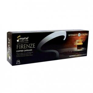 Капсулы для кофемашин NESPRESSO FIRENZE, натуральный кофе, 10 шт*5г, SMART COFFEE CLUB 22115