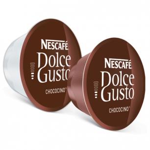 Капсулы для кофемашин NESCAFE Dolce Gusto Chococino, какао капс. 8шт*16г, мол.капс.8шт*17,8г, 5219918