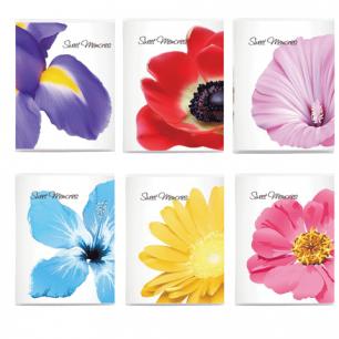 Фотоальбом BRAUBERG на 36 фото 10*15 см, мягкая обложка, цветы, ассорти, 390654