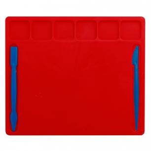 Доска для работы с пластилином, А5, 148х210 мм, цветная, 2 стека, ДЛ-01