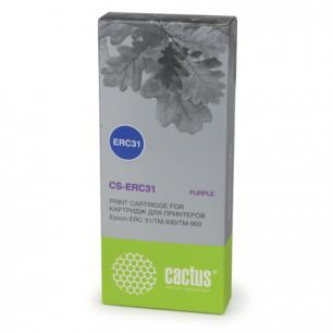 Картридж матричный EPSON (C43S015369)  TM-930/950 пурпурный CACTUS СОВМЕСТИМЫЙ