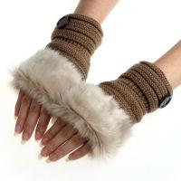 """Зимние женские перчатки """"Пушок"""""""