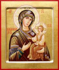 Макарьевская икона Божией Матери (рукописная)