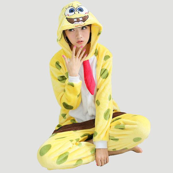 Пижама Кигуруми Губка Боб_01